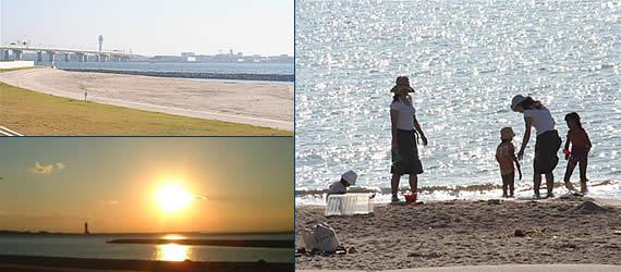 ビーチ りんくう りんくうビーチで、手ぶらBBQ
